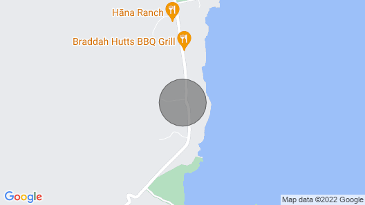 Great Location Between Hana Town and Hamoa Beach, Private, Family-friendly Map