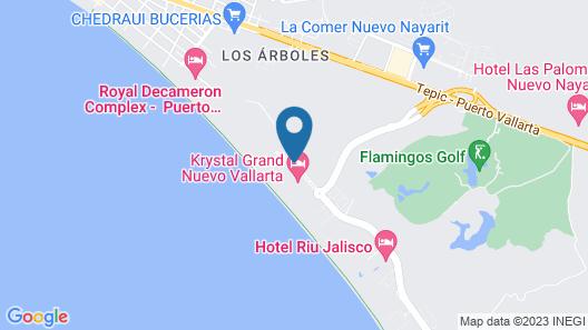 Villa La Estancia Beach Resort & Spa Riviera Nayarit Map