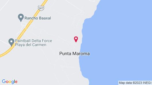 Maroma, A Belmond Hotel, Riviera Maya Map