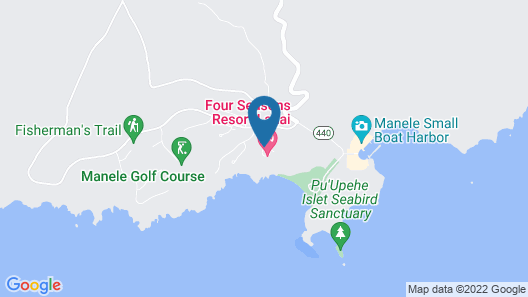Four Seasons Resort Lanai Map
