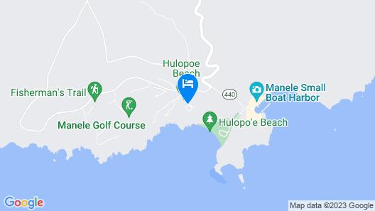 Four Seasons Resort Lanai Map