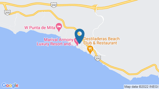 Marival Armony Luxury Resort and Suites All-Inclusive Map
