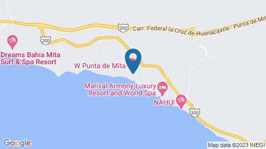 W Punta de Mita Map