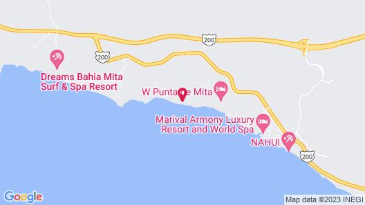Rancho Banderas all Suites Resort Punta Mita Map