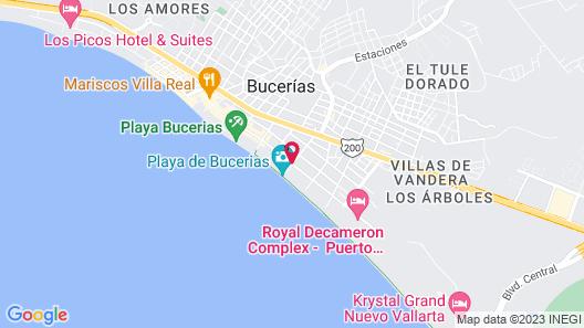 Casa de Pancho Map