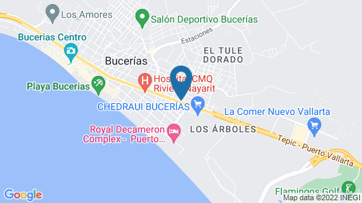 Cactus Inn Map
