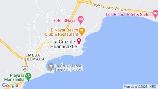 Vallarta Gardens Beach Front Hotel & Residences Map