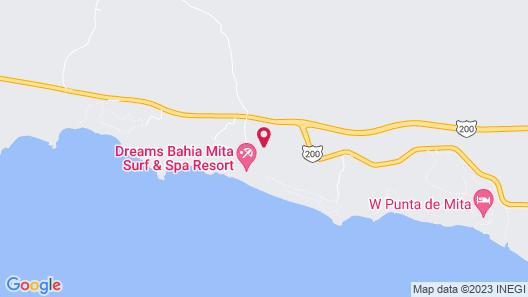 Dreams Bahia Mita Surf & Spa - All Inclusive Map