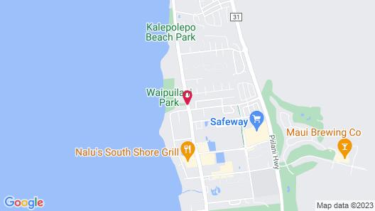 Maui Sunset Map