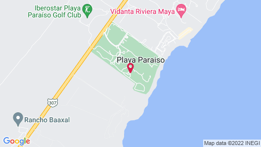 Iberostar Grand Paraiso Adults Only - All Inclusive Map