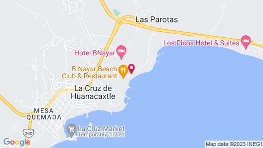 Jardin del Mar Map