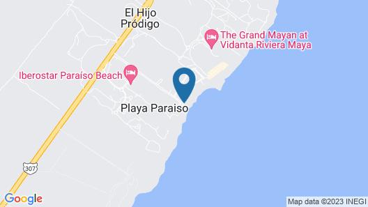 Artisan Playa Paraíso Map