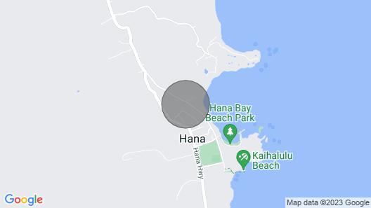 Stha-2017/0002 Across From Hana Bay Map
