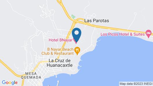 Hotel B Nayar Map