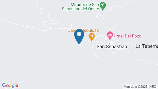 Hotel Hacienda Matel Map