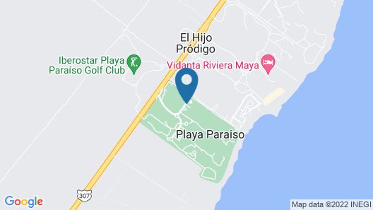 Iberostar Paraiso Del Mar All Inclusive Map