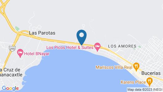 Vista Vallarta All Suites on the Beach Map