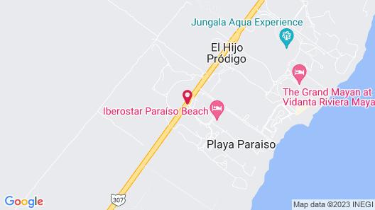 Iberostar Paraiso Beach All Inclusive Map