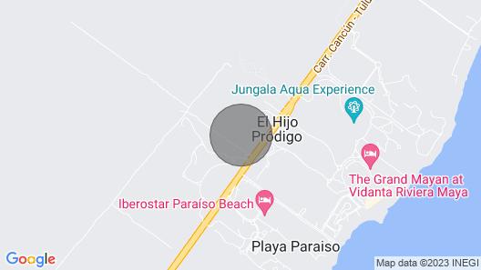 Riviera Maya Mexico 1BR 2Ba Within Grand Mayan Suite Map