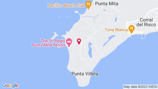 The St. Regis Punta Mita Resort Map