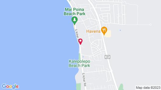 Kohea Kai Maui, Ascend Hotel Collection Map