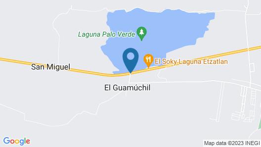 Guamúchil Parque Acuático & Cabañas Map