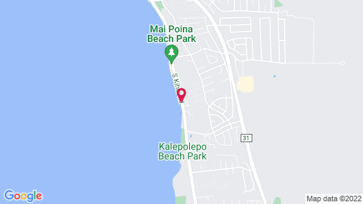 Maui Beach Vacation Club Map