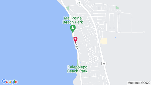 Nona Lani Cottages Map