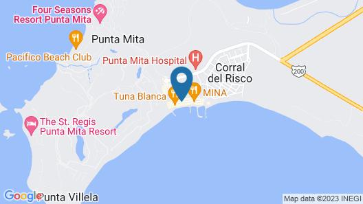 Punta Mita Luxury Beachfront Condo Map