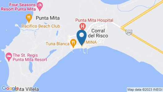 Hotel Meson de Mita Map