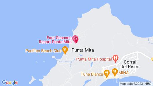 Four Seasons Resort Punta Mita Map