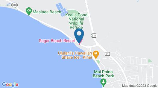 Sugar Beach Resort by Vacasa Map
