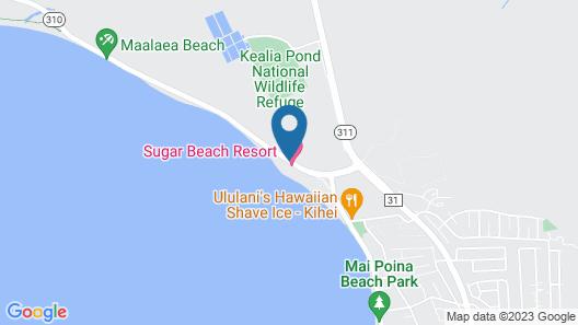 Sugar Beach Resort - Maui Condo & Home Map