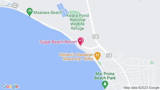 Sugar Beach Resort by CRH Map
