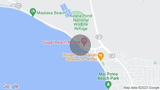 Best Beachfront Value in Kihei - Kealia Resort Map