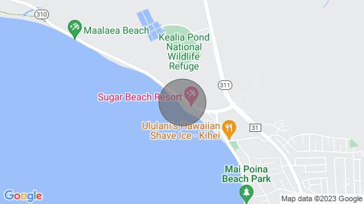 KBR #302 - 2 Bedroom/2 Bath Ocean Front Upgraded Condo on Sugar Beach! Map