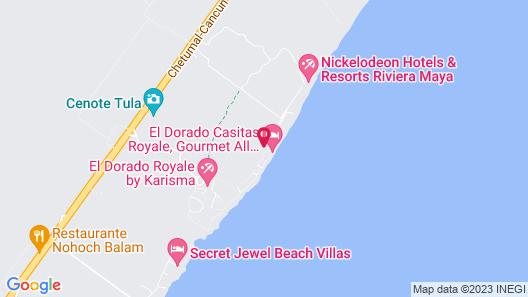 El Dorado Casitas Royale, Gourmet All Inclusive by Karisma Map