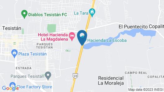 Hacienda La Magdalena Map