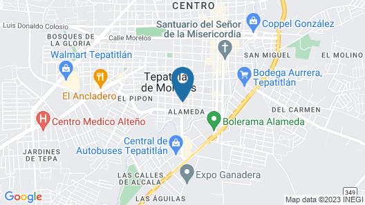 Hotel Matamoros Map