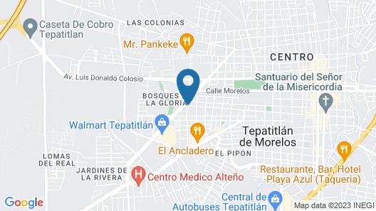 Suites La Gloria Map