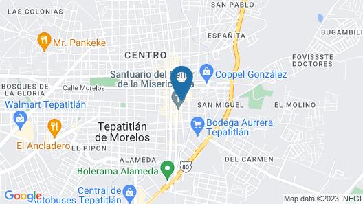 Hotel Casa Naranjos  Map