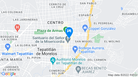 Hotel Plaza Ejecutivo Map