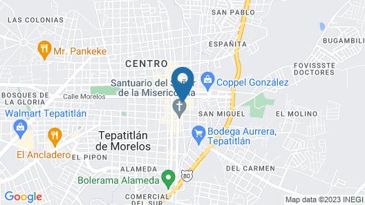 Hotel Magno Tepatitlan Map