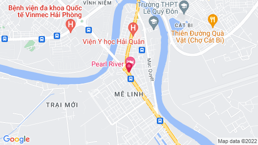 Pearl River Hotel Map