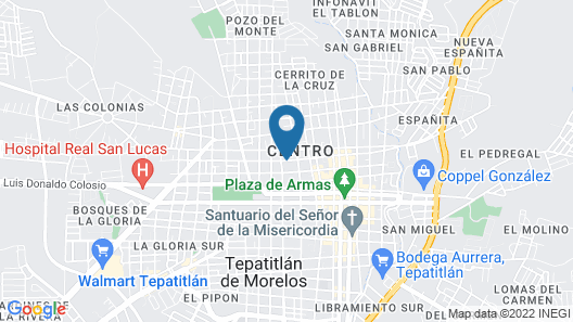 Hotel Casa Blanca & Suites Map