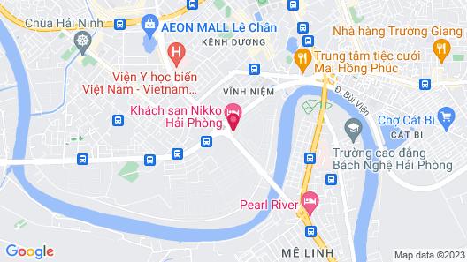 Hotel Nikko Hai Phong Map