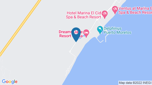 Grand Residences All Inclusive Map