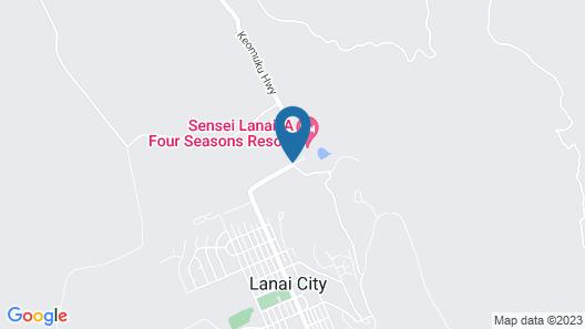 Sensei Lānaʻi, A Four Seasons Resort Map