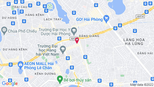 Thuy Duong Motel Apartments Map