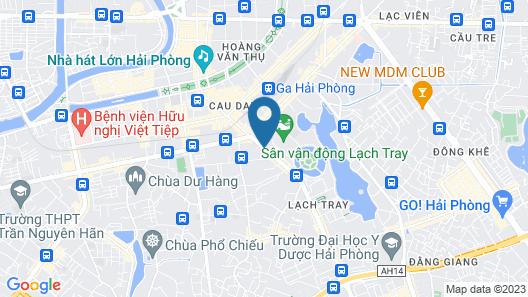 Mercure Hai Phong Map